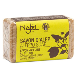 Najel - Aleppo zeep olijf citroen limoen 100 gram.