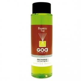GOA Bambou Thé Geurstokjes Navulling 250 ml. & geurstokjes