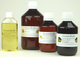 Perzikpitolie - Plantaardig olie, geraffineerd. Geurwalhalla 200 ml t/m 10 l