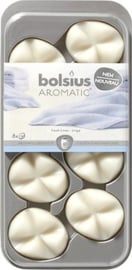 Bolsius Creations - Geurchips (waxmelts) Fresh Linen 8 stuks