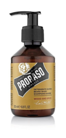 Proraso - Baard shampoo wood & spices 200 ml.