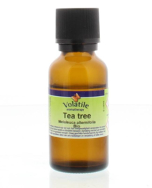 Tea Tree Biologische Tea Tree Bio  Volatile 25 ml.