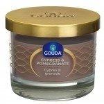 Gouda Geurglas Zandsteen / Cypress & pomegranate 66/80 mm
