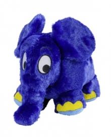 01155  Warmies warmteknuffel Blauwe Olifant  (magnetronknuffel)