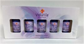 1100SP Volatile - Cadeauverpakking massage sport 5 x 30 ml.