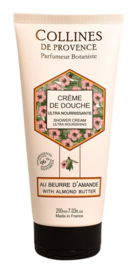 Collines de Provence - Amandelboter showercream 200 ml.