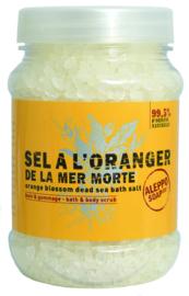 Aleppo Soap Co. - Sinaasappelbloesem (fleur d'oranger)Badzout 500 gram.