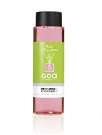 GOA  Rose d'Eglantine Geurstokjes Navulling 250 ml. & geurstokjes