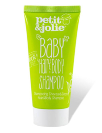 Petit&Jolie Baby Hair & Body Shampoo 50 ml. (mini)