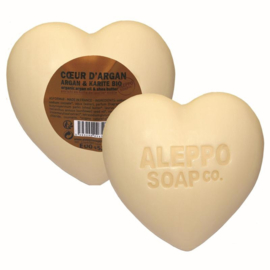 Aleppo Soap Co. - Hartzeep argan in cellofaan 200 gram.
