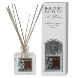 Le Blanc - Mini geurstokjes patchouli 50 ml.