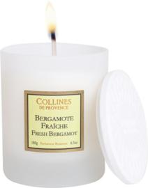 Collines de Provence - Geurkaars Bergamot 180 gram.