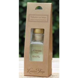 Les Lumières du Temps - Huisparfum Cashmire en geurstokjes 100 ml.