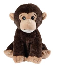 15055 Warmies warmteknuffel Mini Chimpansee (magnetronknuffel)
