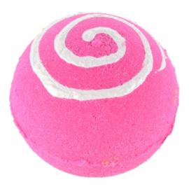Treets Badbruisbal - Bath Ball Pink Swirl