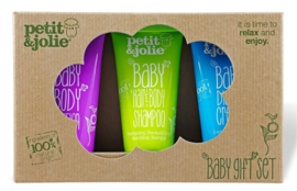 Petit&Jolie - Baby Gift Set 3 x 50 ml.