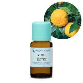Yuzu olie - Etherische olie Citrus Junos , bio. Florihana 5 of 15 gram