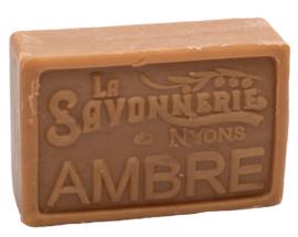 La Savonnerie de Nyons - Marseillezeep Ambre (Amber) 100 gram.