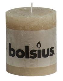 Bolsius Stomp Rustiek Pastelbeige 80/68