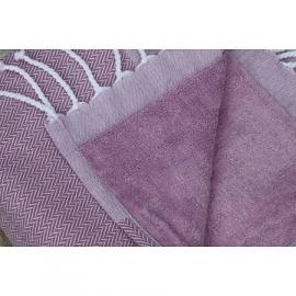 Artalep Fouta/badstof handdoek 45 x 100 cm