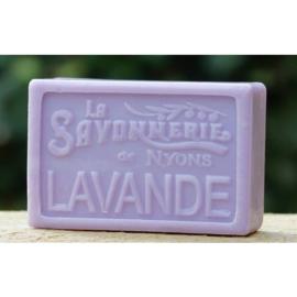 Savonnerie de Nyons - Marseillezeep Lavendel 100 gram.