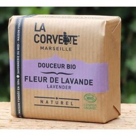 La Corvette - Biologische Marseillezeep  met Lavendel 100 gram