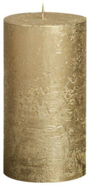Bolsius - Stompkaars Metallic rustiekkaars 130/68 Goud