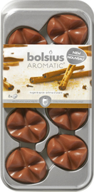 Bolsius Creations - Geurchips (waxmelts) Sugar & Spice 8 stuks
