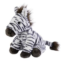 15057 Warmies warmteknuffel Mini Zebra  (magnetronknuffel)