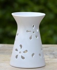 Les Lumières du Temps - Theelichthouder keramiek kegel 13 cm