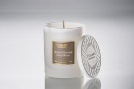 Collines de Provence - Geurkaars Olijfhout 180 gram.