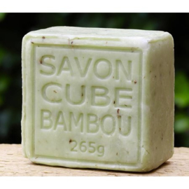 Maitre Savonitto - Blok bamboezeep Savon de Marseille 265 gram.