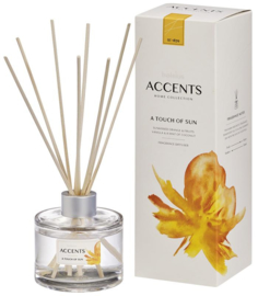 Bolsius Accents Reed Diffuser A Touch Of Sun 100 ml.