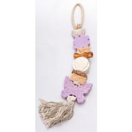 La Savonnerie de Nyons - Zeepketting vlinder geur lavendel
