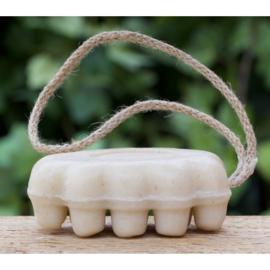 Maitre Savonitto - Massagezeep in doosje aan koord (biologisch) 120 gram