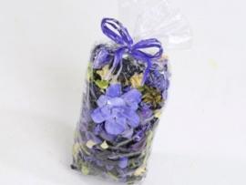 Gemengde potpourri paars 100 gram geparfumeerd