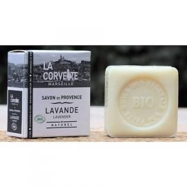 La Corvette - Biologische zeep met lavendelolie in doosje