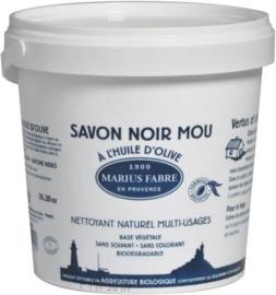 Marius Fabre -  Savon Noir - Lavoir Zwarte zeep pot 1 kilo.