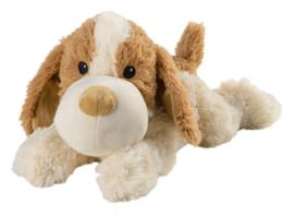 01031  Warmies warmteknuffel Hond Don (magnetronknuffel)