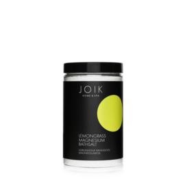 Joik - Relaxing badzout met essentiële oliën van citroengras 500 gram.