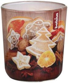 Bolsius Gevuld geurglas 80/73 Gingerbread (vanille)