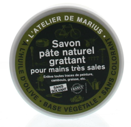 Marius Fabre - Atelier marius zeepscrub zwart 200 ml.