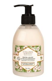 Collines de Provence - Amandelboter zeep met pomp 300 ml.