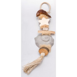 La Savonnerie de Nyons - Zeepketting schelp  geur angelique