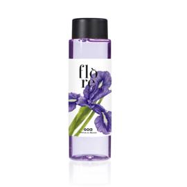 GOA Goatiers Flore Iris  (iris)  Navulling 250 ml. en geurstokjes.
