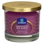 Gouda Geurglas Purper / Hibiscus & red berry 90/100 mm