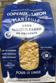 Marius Fabre -  Zeepvlokken Savon De Marseille  zonder palmolie (980 gram)