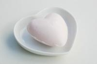 Lumière de Provence -hartzeepje (rozen) 25 gram.