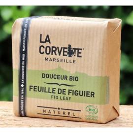 La Corvette - Biologische Marseillezeep  met Vijgen 100 gram