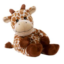 01068  Warmies warmteknuffel Giraffe Giraffana (magnetronknuffel)